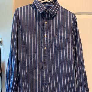 Men's large American Eagle Long sleeve shirt